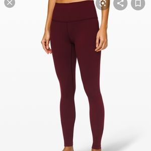 Lululemon Wunder Under HR 31